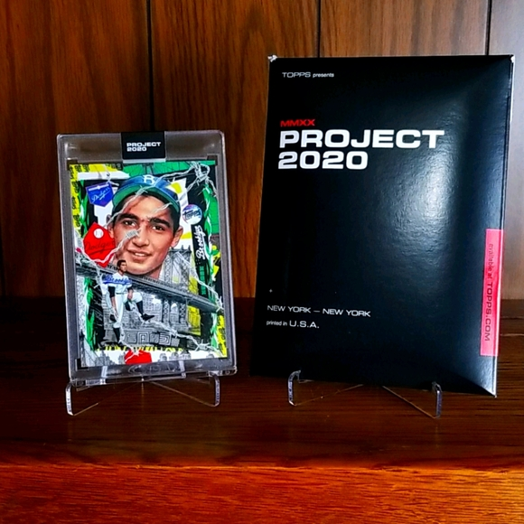 Sandy Koufax Topps Project 2020, # 99 short print